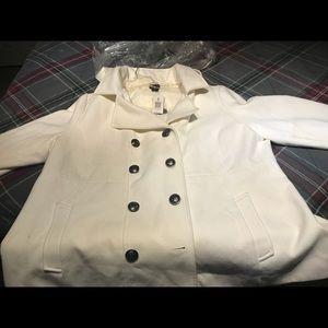Jackets & Blazers - Torrid Winter White Coat